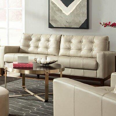 Lazzaro Leather Clayton Leather Sofa