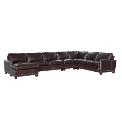 Lazzaro Leather Bozeman Leather Sectional