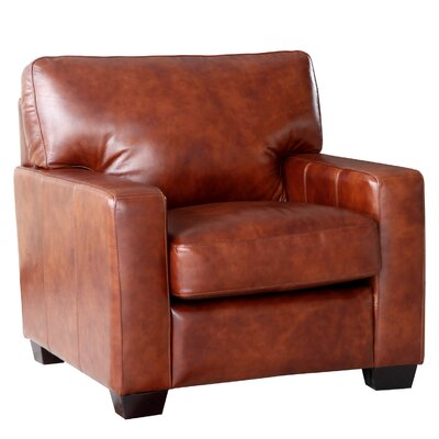 Lazzaro Leather Aberdeen Armchair