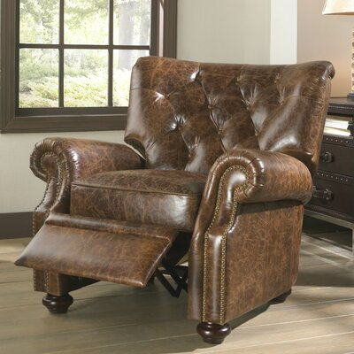 Lazzaro Leather Louis Armchair
