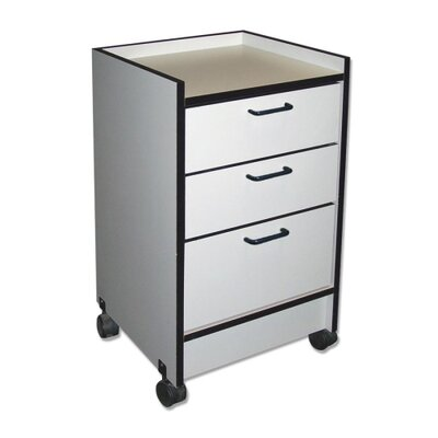 Hausmann Industries 3-Drawer Mobile Cart