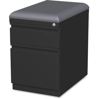Lorell Cushion Seat Storage Mobile Pedestal File