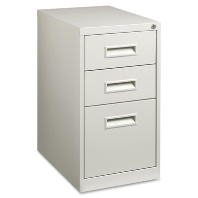 Lorell 3-Drawer Box/Box/File Mobile Pedestal Files