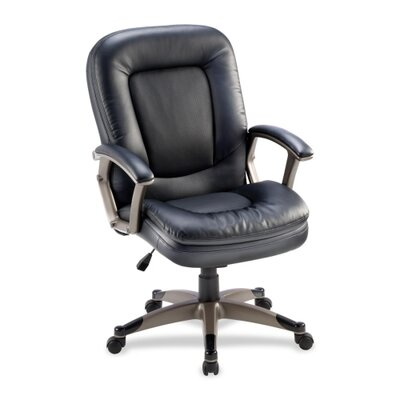 Lorell Mid-Back Conference Chair in Black