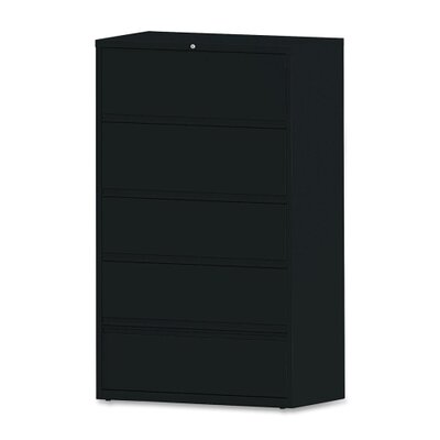 Lorell 5-Drawer Receding  Files