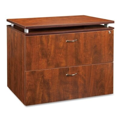 Lorell Ascent 68600 Series 2-Drawer  File Cabinet