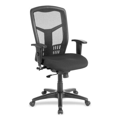 Lorell Conference High-Back Mesh Swivel Chair