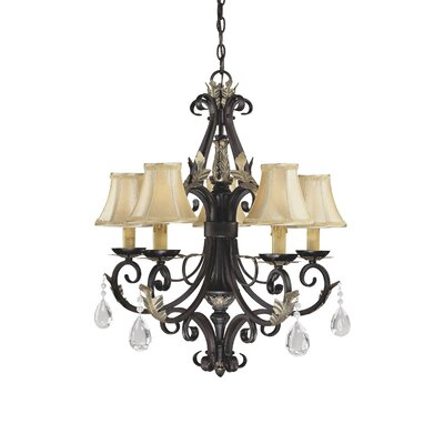 Minka Lavery Bellasera 5 Light Chandelier Reviews Wayfair