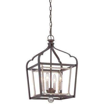 Minka Lavery Astrapia 4 Light Foyer Pendant Reviews Wayfair
