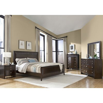 InRoom Designs Queen Panel Customizable Bedroom ..