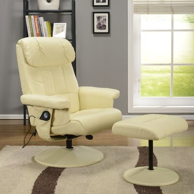 InRoom Designs Relax Arm Chair and Ottoman