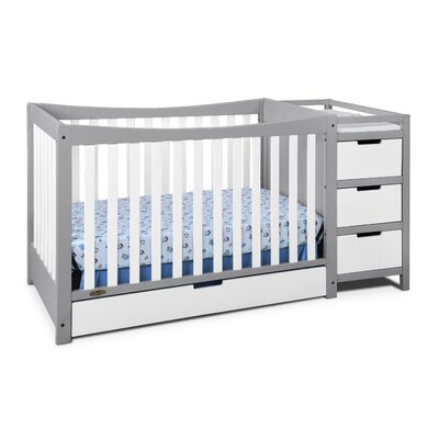 Graco Remi 4 In 1 Convertible Crib And Changer U0026 Reviews   Wayfair