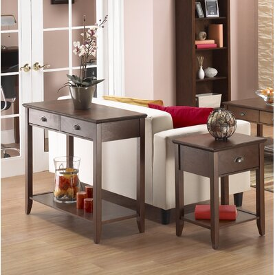 Hazelwood Home Koenig Coffee Table Set