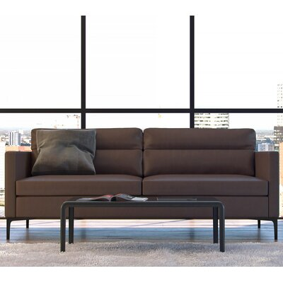 Moroni Selton Leather Sofa