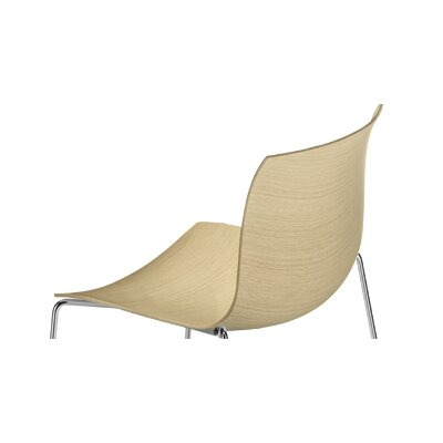 Arper Catifa 53 Wooden Shell for Sled Base Chair