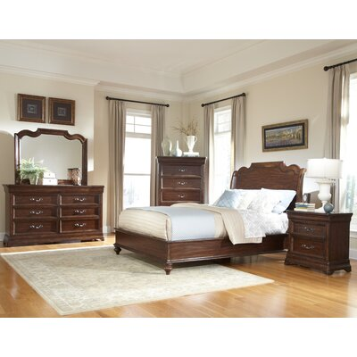 American Woodcrafters Signature Panel Customizable Bedroom Set