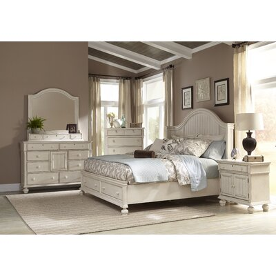 American Woodcrafters Newport Panel Customizable Bedroom Set