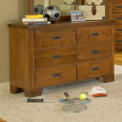 American Woodcrafters Heartland Double Dresser Image