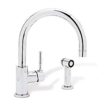 blanco meridian single handle deck mounted kitchen faucet