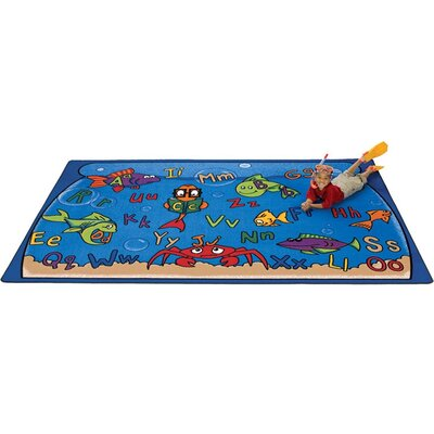 Carpets For Kids Literacy Alphabet Aquarium Kids Rug