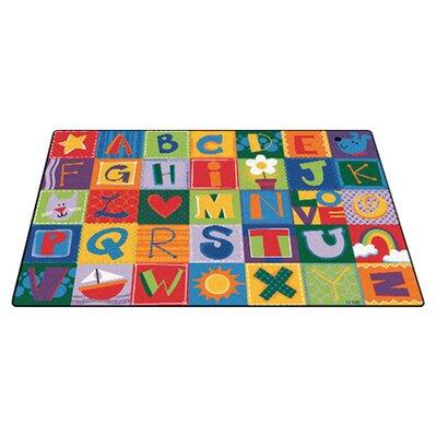 Carpets For Kids Toddler Alphabet Blocks Area Rug