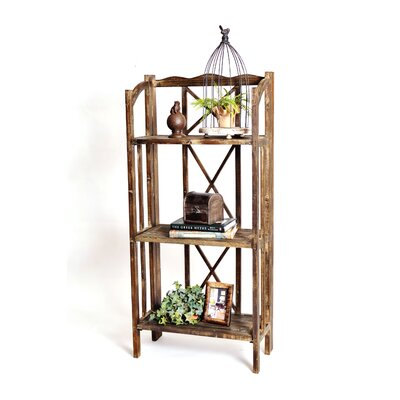 RTA Home And Office Haven Foldable Rustic Shelf 51