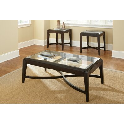 Steve Silver Furniture Mayfield 3 Piece Coffee Table Set