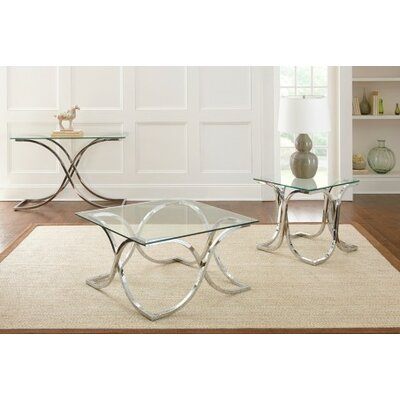 Steve Silver Furniture Leonardo Coffee Table Set