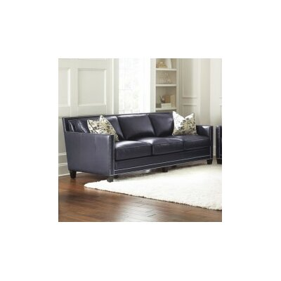 Steve Silver Furniture Hendrix Leather Sofa