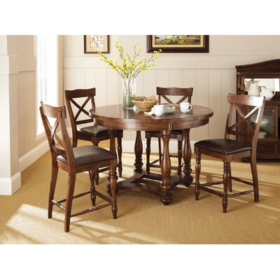 Darby Home Co Coldspring 5 Piece Counter Height Dining Set