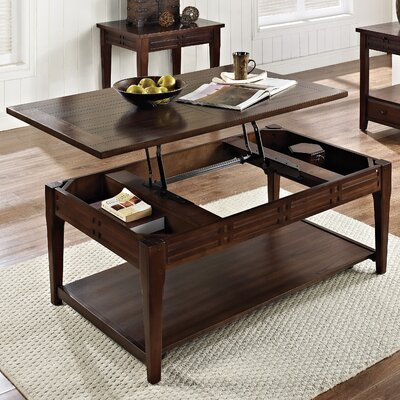 World Menagerie Riverside Coffee Table wi..
