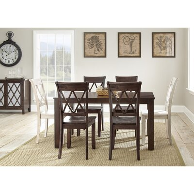 Darby Home Co Dauberville 7 Piece Dining Set