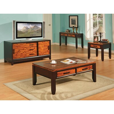 Loon Peak Frazer 3 Piece Coffee Table Set