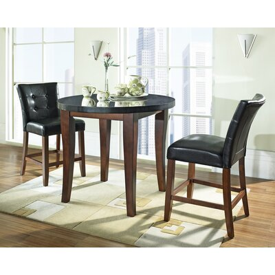 Darby Home Co Tilman 3 Piece Counter Height Dining Set