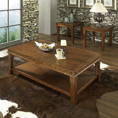 Steve Silver Furniture Odessa 3 Piece Coffee Table Set