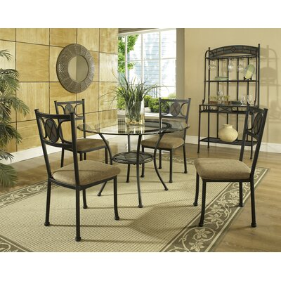 Steve Silver Furniture Carolyn 5 Piece Dining S..