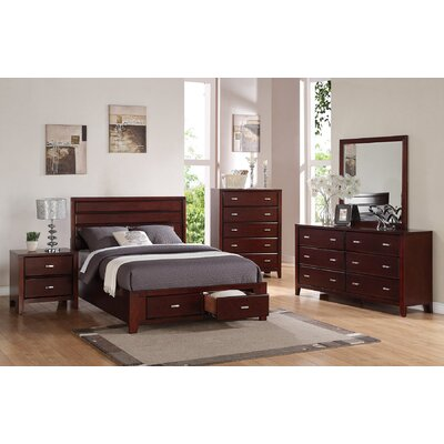 Andover Mills Acropolis Platform Customizable Bedroom Set