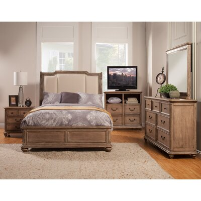 Alpine Furniture Melbourne Panel Customizable Bedroom Set