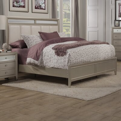 Mercer41 McKellen Upholstered Panel Bed