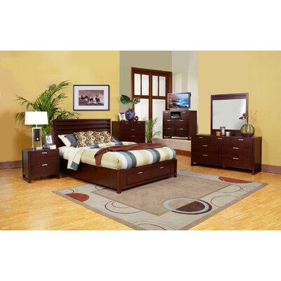 Alpine Furniture Camarillo Platform Customizable Bedroom Set