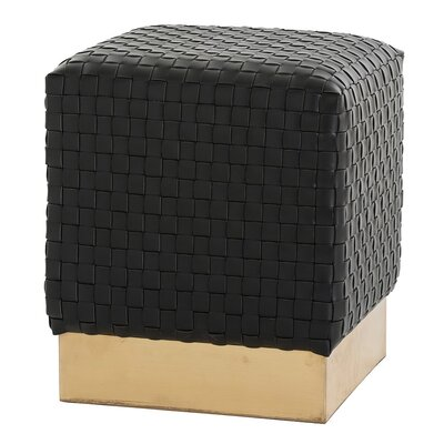 ARTERIORS Home Emmit Leather Ottoman