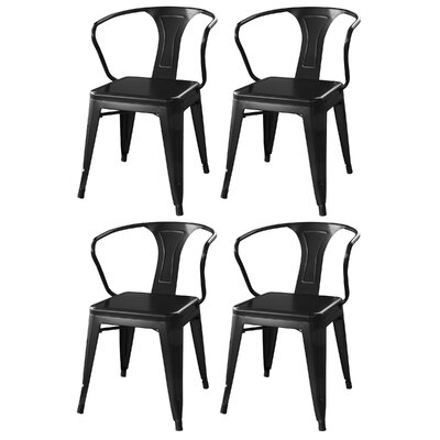 Buffalo Tools AmeriHome Arm Chair (Set of 4)