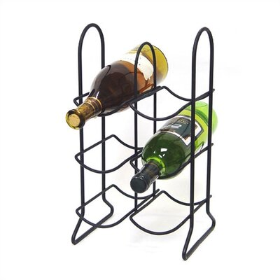 Spectrum Diversified Townhouse 6 Bottle Tabletop Wine Rack