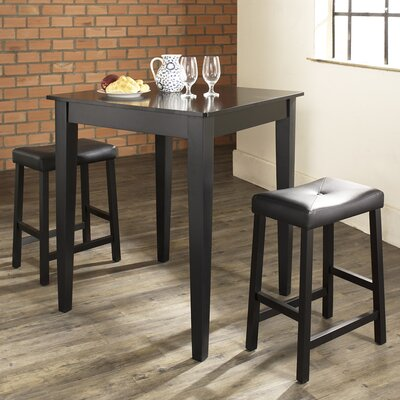 Crosley Dylan 3 Piece Pub Table Set