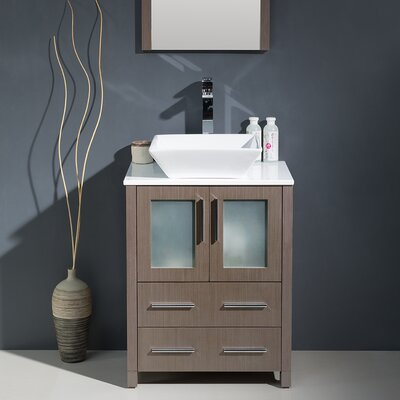 24 Single Modern Bathroom Vanity Set With Mirror Reviews Wa