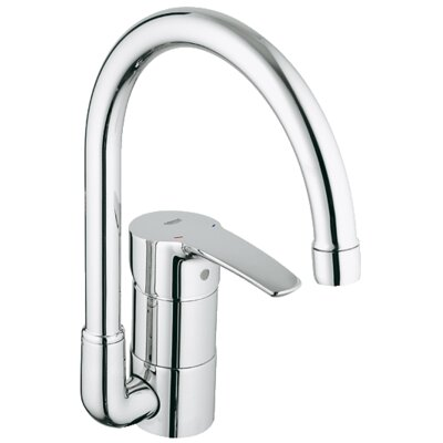 Grohe Eurostyle Single Handle Single Hole Standard Kitchen Faucet & Reviews | Wayfair