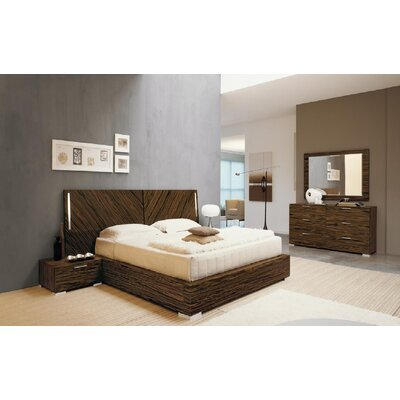 YumanMod Webb Panel Customizable Bedroom Set