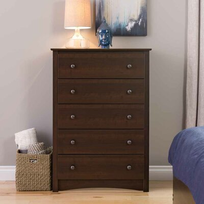 Latitude Run Penelope 5 Drawer Chest