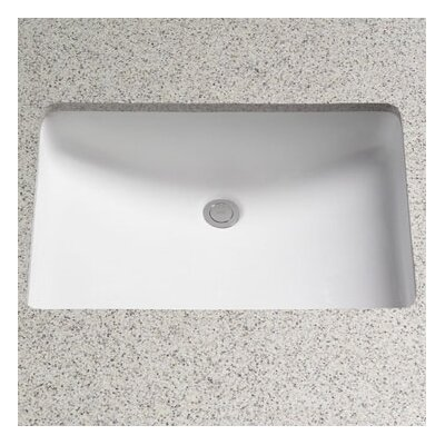 Toto Rimless Undermount Bathroom Sink With Sanagloss Glazing Reviews Wayfair