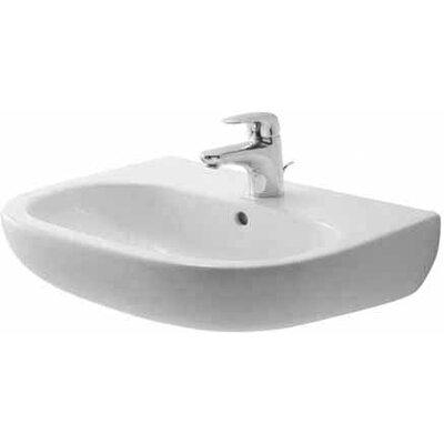 duravit d code 3 bathroom sink reviews wayfair